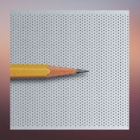 Grey Micro Perforated Fabric