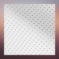 White Perforated Fabric